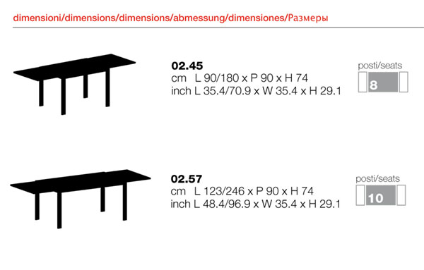 Tavoli e seggiole tavolo e 4 sedie bontempi for Pucciarini arredamenti