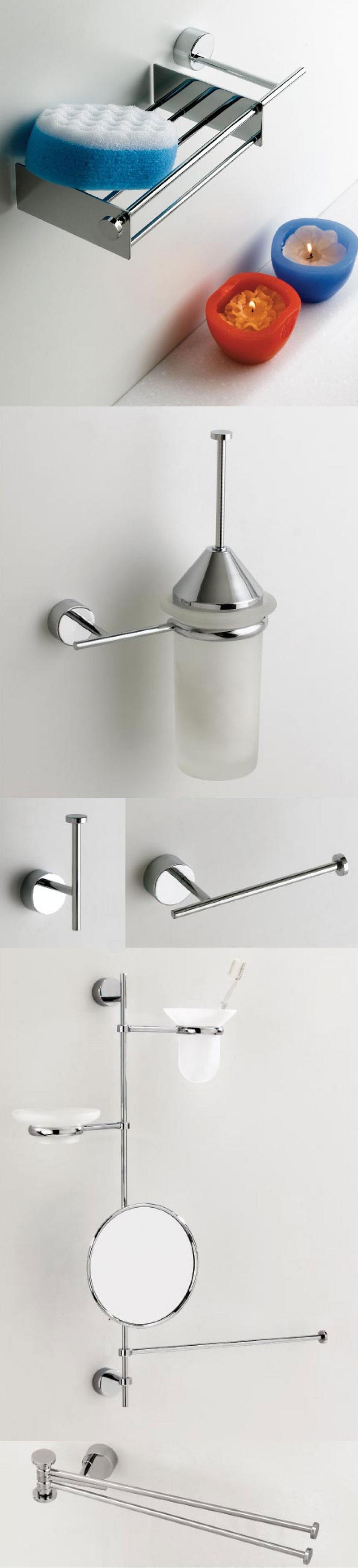 Pensile accessori arredo bagno design moderno angolare for Accessori bagno design moderno