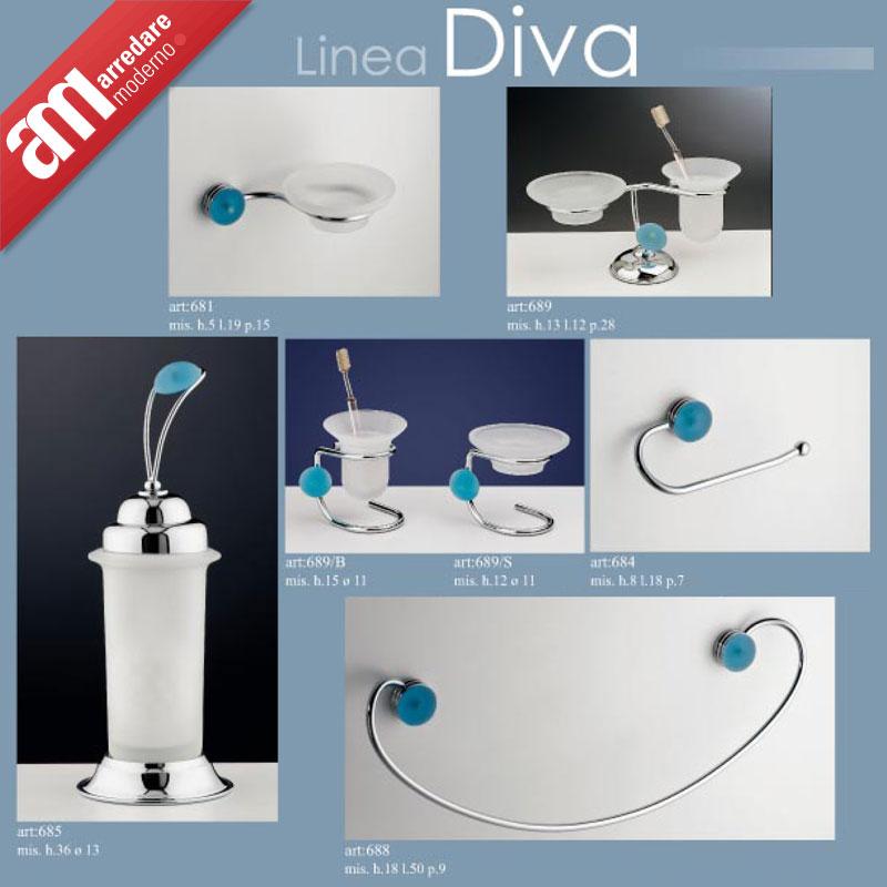 Bathroom accessories set 8 pieces italian bath furniture for Bathroom accessories made in italy