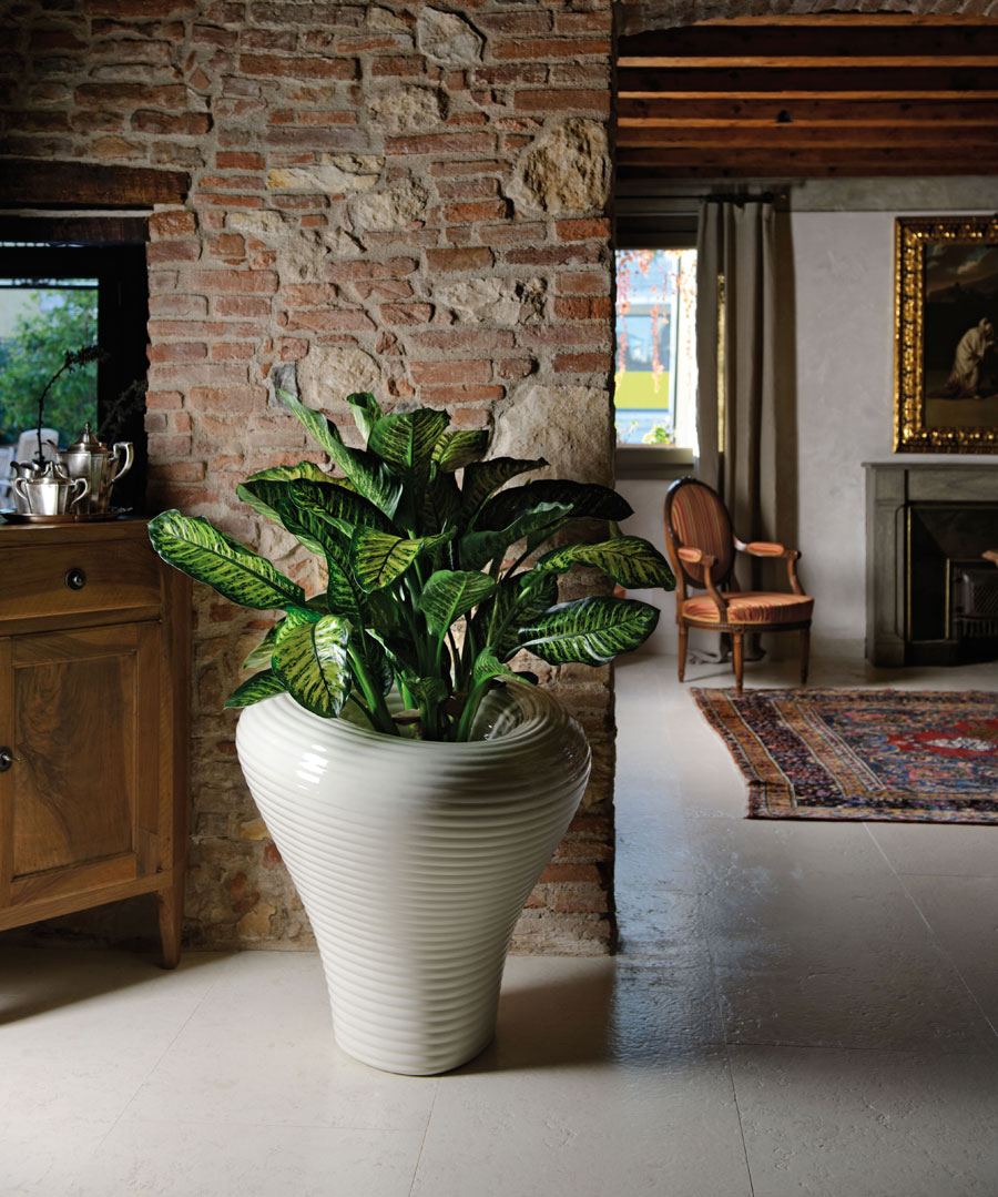 Vaso portavaso moderno esterno design interno giardino - Vasi da interno design ...