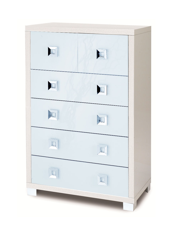 Cassettiera com in legno 6 cassettti arredare moderno for Cassettiera lago prezzo