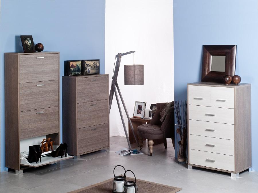 Mobile cassettiera 6 cassetti in legno arredare moderno for Cassettiera lago prezzo