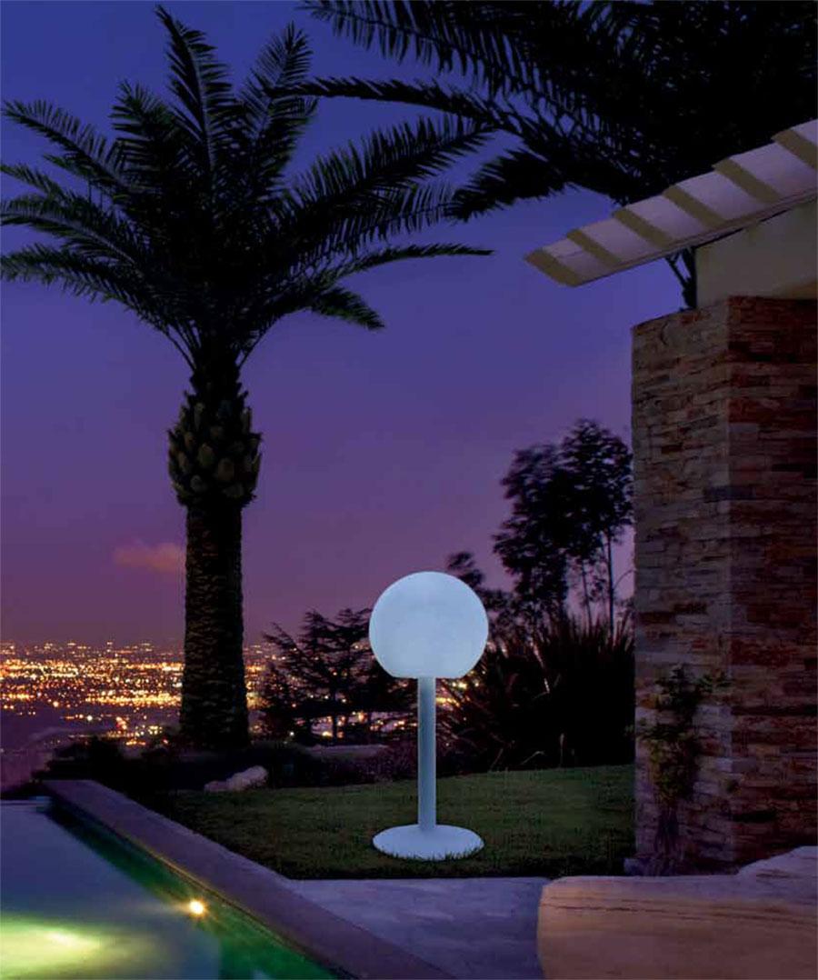 Lampada Lampade Design Moderno Giardino Interno Esterno