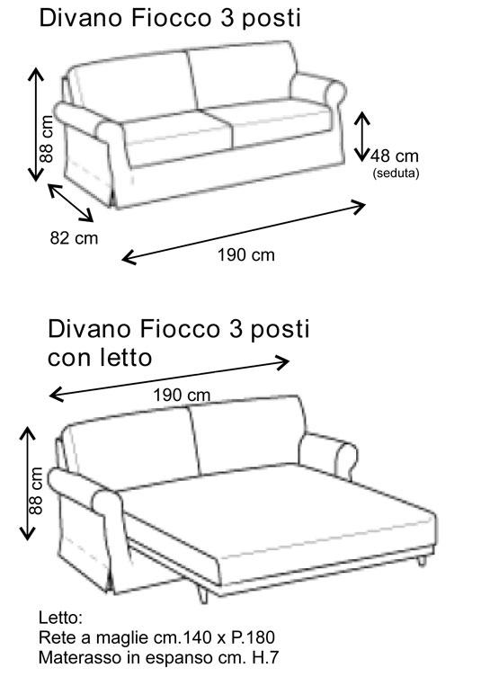 Casa moderna roma italy dimensioni divano 3 posti for Misure divani