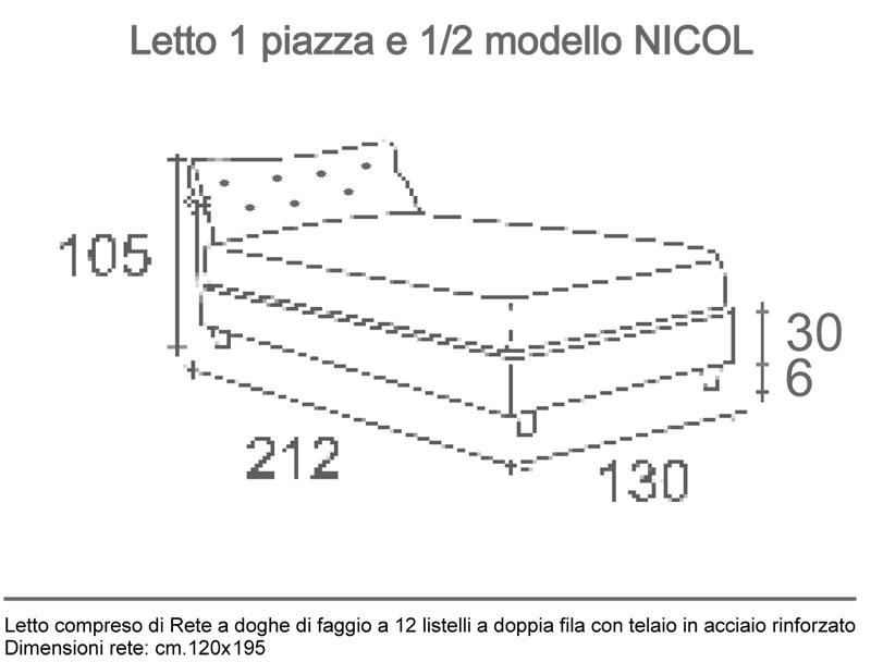 Best Dimensioni Letto Piazza E Mezza Ideas - bakeroffroad.us ...