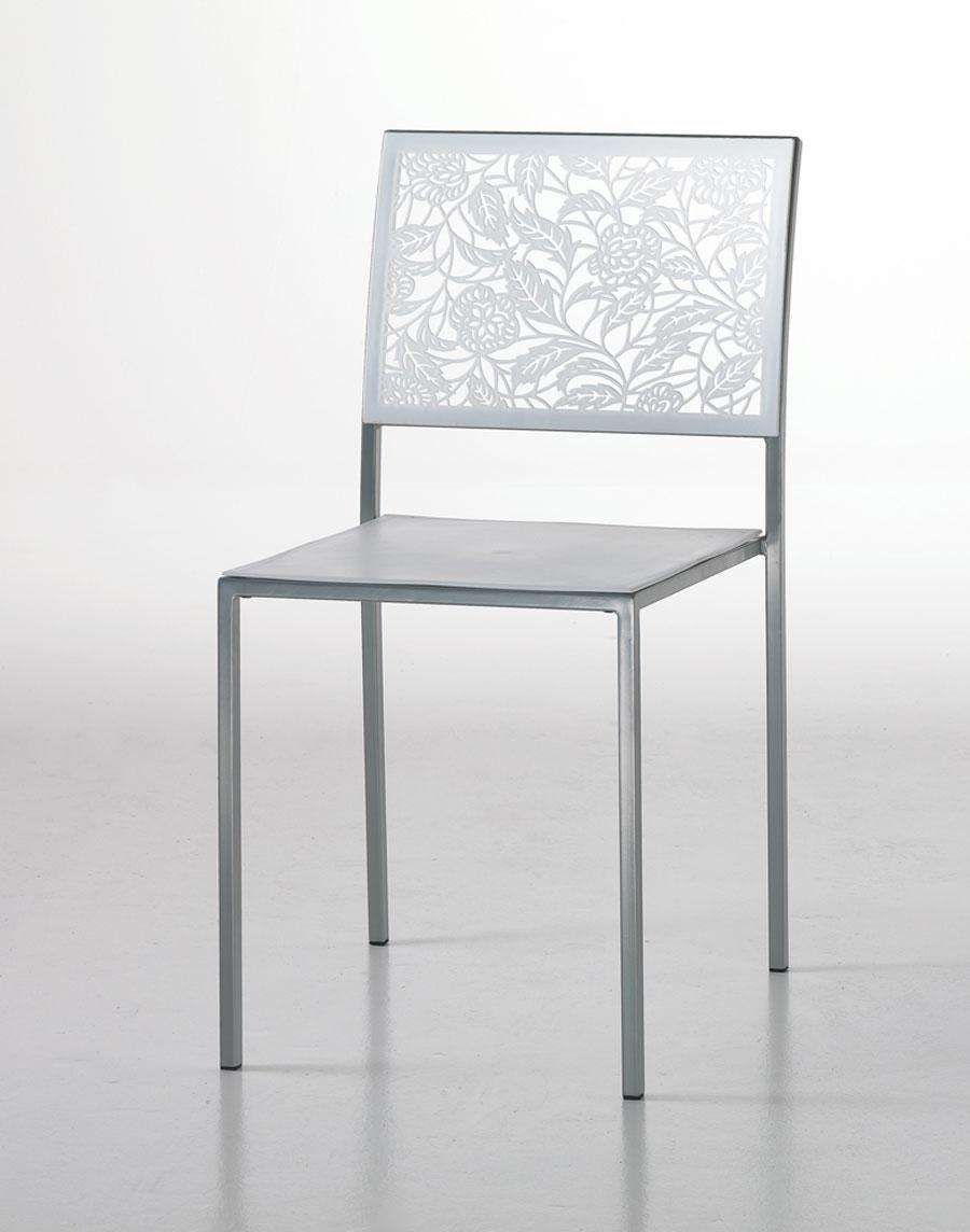Sedie da scrivania viola design casa creativa e mobili for Sedie alte da cucina
