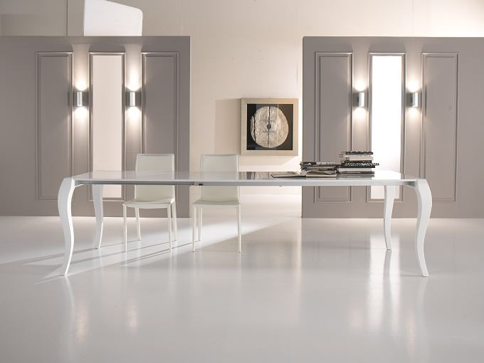 tavoli moderni vetro design : ... jpeg 39kB, Gallery of Tavoli Allungabili Moderni Vetro Cristallo Legno